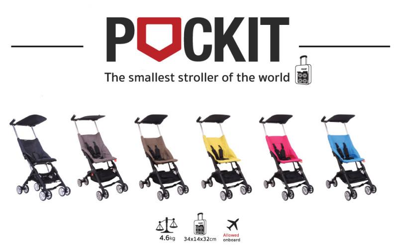 Pockit : la poussette la plus compacte !