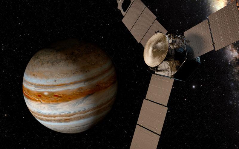 L'énigmatiques Jupiter