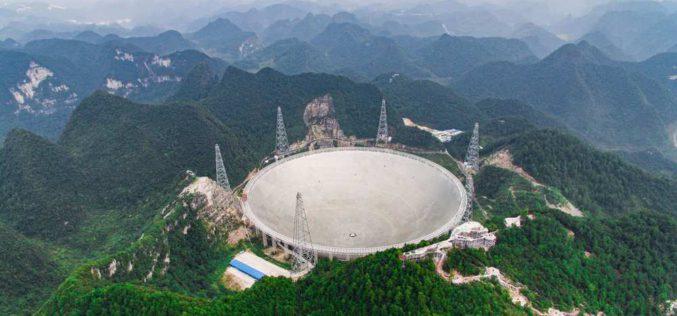 La Chine met en service le plus grand télescope du monde