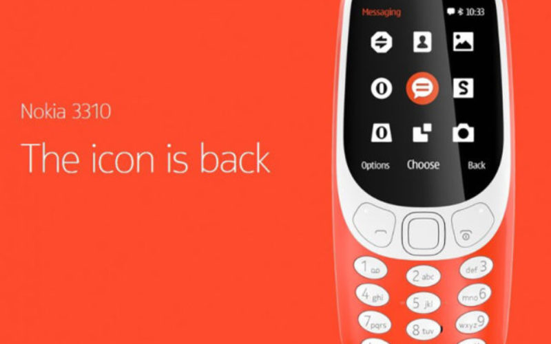 Nokia 3310, le grand retour!