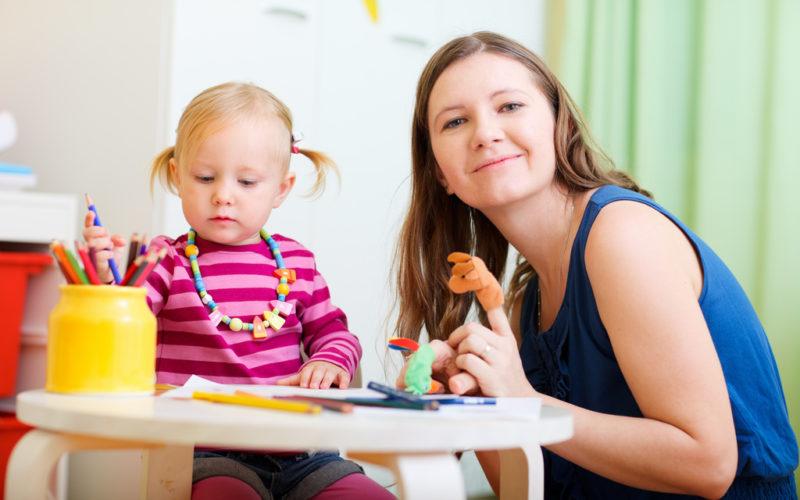 La praticité des services de garde d'enfants professionnels