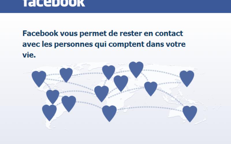 Le site de rencontres de Facebook