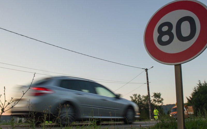 Limitation à 80km/h: c'est pour bientôt