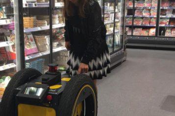 Franprix va tester un robot de livraison roulant en 2019